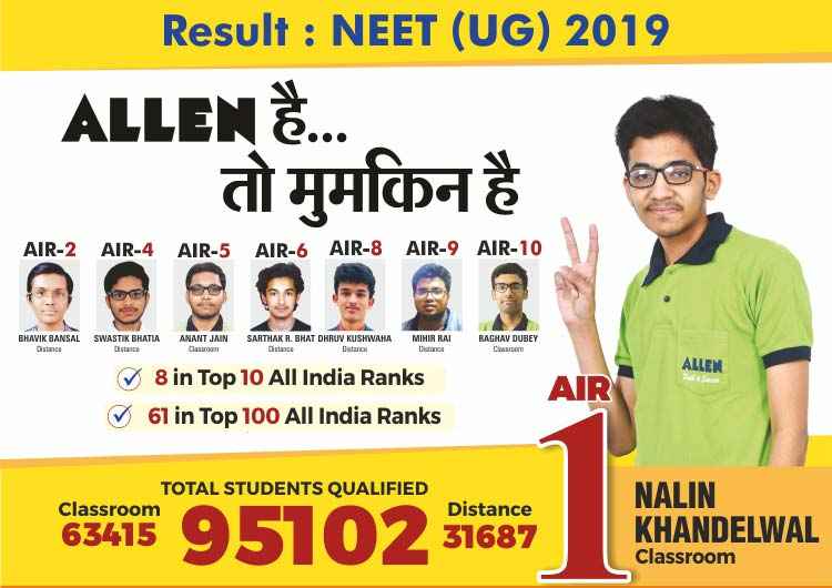 Allen Career Institute- Best IIT(JEE), NEET(UG), AIIMS