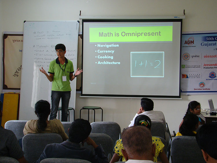 students paper presentation in math conference 14th to 17th nov