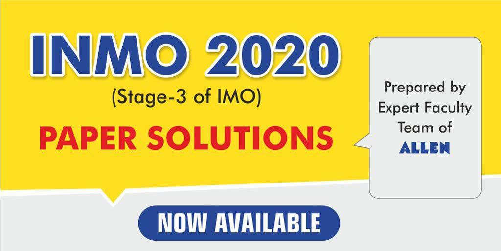 INMO 2020 EXAM