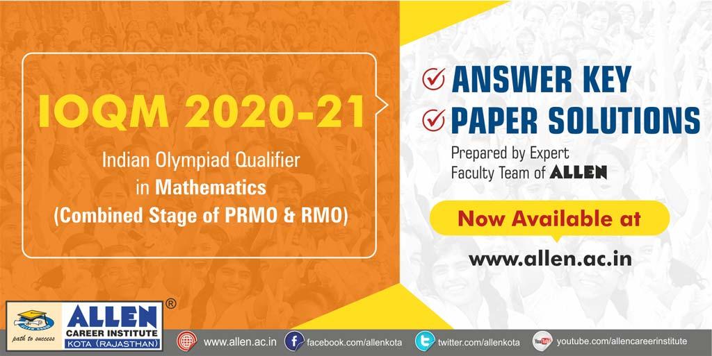 IOQM 2021 Exam